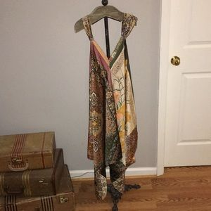 Anthropologie Large Petite Handkerchief Dress